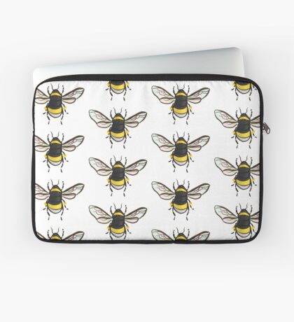 Bumble Bee Pattern Laptop Sleeve