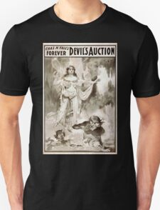 Performing Arts Posters Chas H Yales forever Devils auction 1068 Unisex T-Shirt