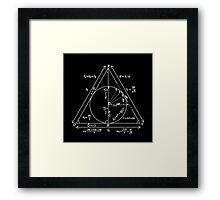 Harry Potter - Deathly Hallows Framed Print