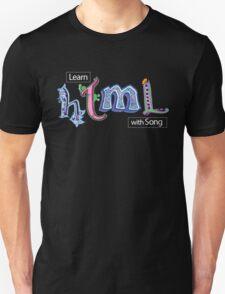 Hand-Drawn HTML Logo Unisex T-Shirt