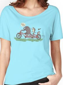 ROLLIN' PANGOLINS Women's Relaxed Fit T-Shirt