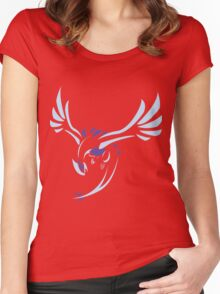Tribal Lugia Women's Fitted Scoop T-Shirt