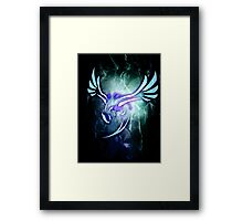 Tribal Lugia Framed Print