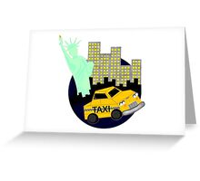 NYC Graphic Greeting Card