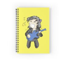 Fat Neko Rocker Spiral Notebook