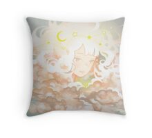 adrift. Throw Pillow