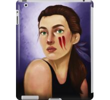 Feathers in her hair iPad Case/Skin