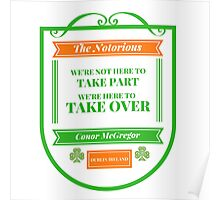 Conor McGregor Quote [Take Over] Poster