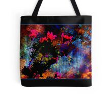 suspended flowers ...  Tote Bag
