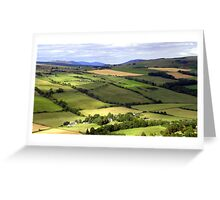 View from Knockfarrel Iron Age hillfort Greeting Card