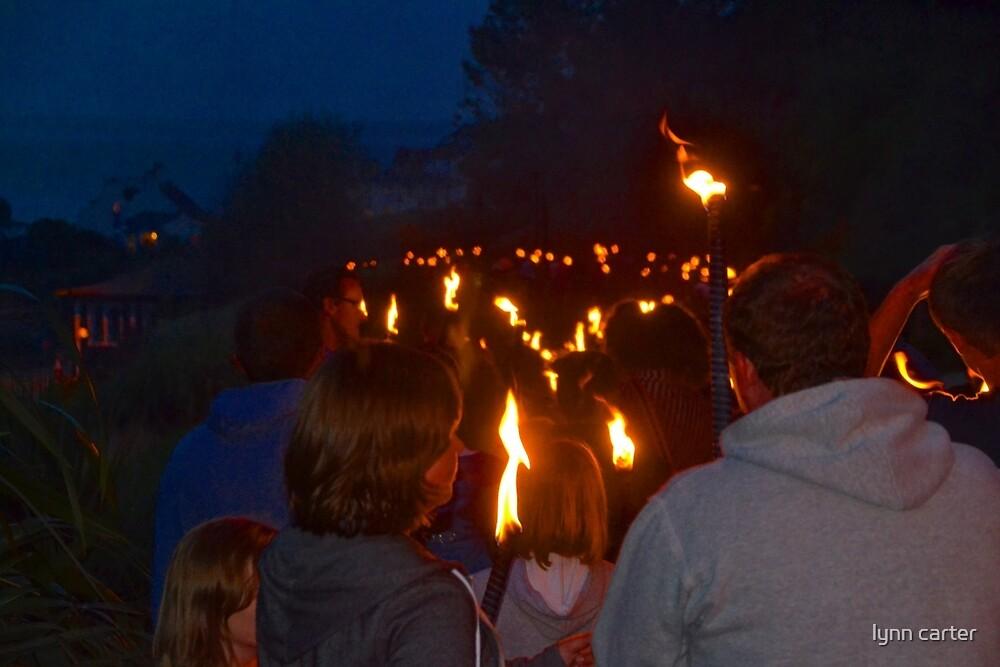 Torch Bearers....... by lynn carter