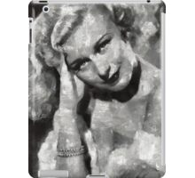 Ginger Rogers Hollywood Actress & Dancer iPad Case/Skin