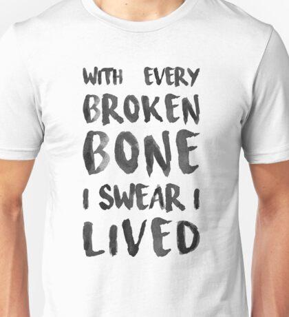 ONEREPUBLIC - I LIVED Unisex T-Shirt