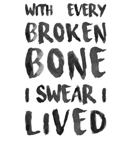 ONEREPUBLIC - I LIVED Sticker