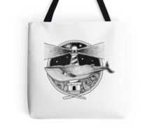 Whale & Lighthouse Tote Bag