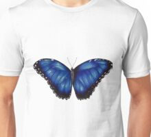 Morpho Butterfly Unisex T-Shirt