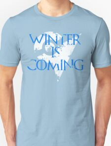 Team Mystic Winter Is Coming Go - White Unisex T-Shirt