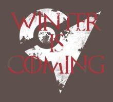Team Valor Winter Is Coming Go - White One Piece - Short Sleeve