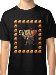 barbarian king and archer queen Classic T-Shirt
