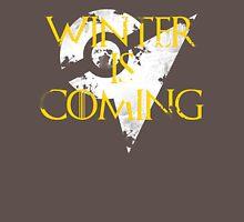 Team Instinct Winter is Coming - White Unisex T-Shirt