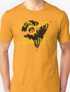 Team Instinct Winter is Coming - Black Unisex T-Shirt