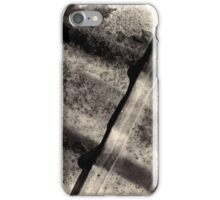 Rusted abstract photography iPhone Case/Skin