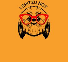 I SHITZU NOT Womens Fitted T-Shirt