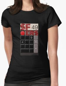 SF 49ers Womens Fitted T-Shirt