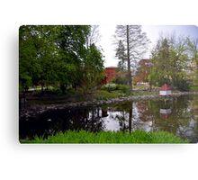 Public City Park, Bydgoszcz, Poland Metal Print