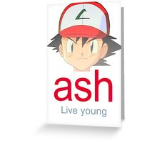 Ash K. Greeting Card