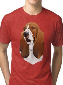 Bassett Hound Tri-blend T-Shirt