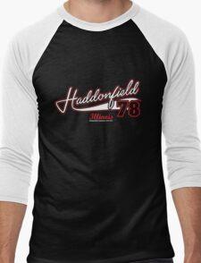 Haddonfield Illinois 78 Men's Baseball ¾ T-Shirt