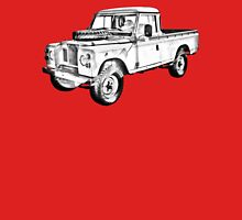 1971 Land Rover Pick up Truck Drawing Unisex T-Shirt