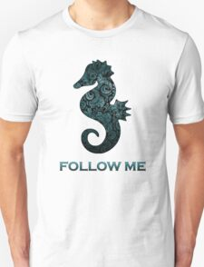 sea horse follow Unisex T-Shirt