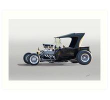 1923 Ford Model T Roadster Pickup I Art Print