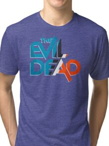 Retro The Evil Dead Tri-blend T-Shirt