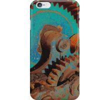 Gears In Blue iPhone Case/Skin