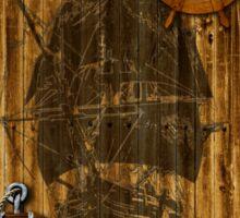 Historical Sailing Ship Sticker