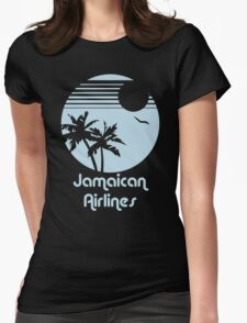 Retro Jamaican Air Lines Womens Fitted T-Shirt