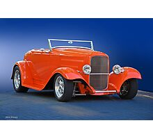 1932 Ford 'Citrus Cooler' Roadster Photographic Print