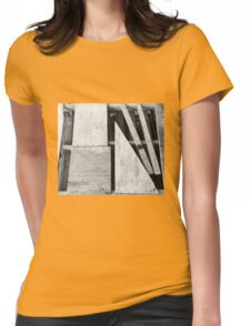 Insane Pallet Now Art Womens Fitted T-Shirt