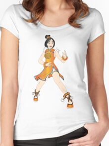 Mulan - tekken Women's Fitted Scoop T-Shirt