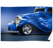 1932 Ford 'Little Blue' Coupe II Poster