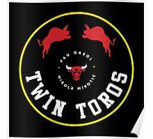 Twin Toros Poster