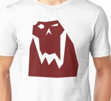 Orc head (Red) Unisex T-Shirt