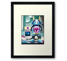 Love Machine Framed Print