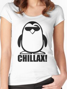 Penguin Birthday Women's Fitted Scoop T-Shirt