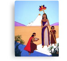 Moses in the Bullrushes Canvas Print