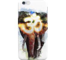 Elephant Crown Chakra iPhone Case/Skin