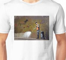 Council Worker by Banksy Unisex T-Shirt